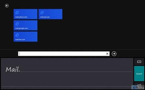 不離不棄 Windows 8全新Metro手寫輸入