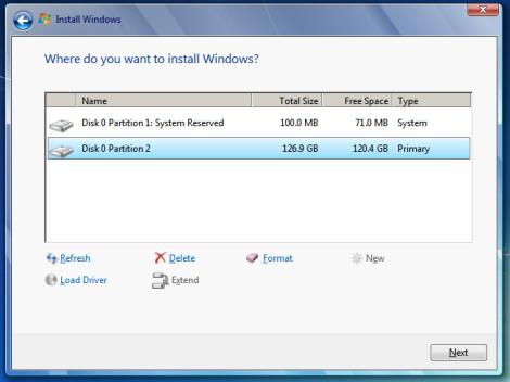 揭秘Windows 7安裝過程中的七大秘密