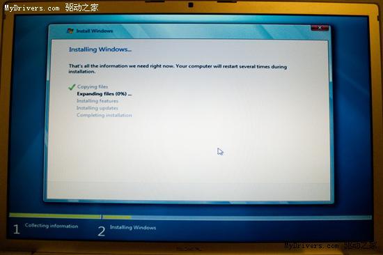 MacBook Pro安裝Windows 7 Beta實戰