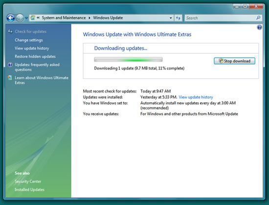 Vista SP2測試版安裝全程截圖