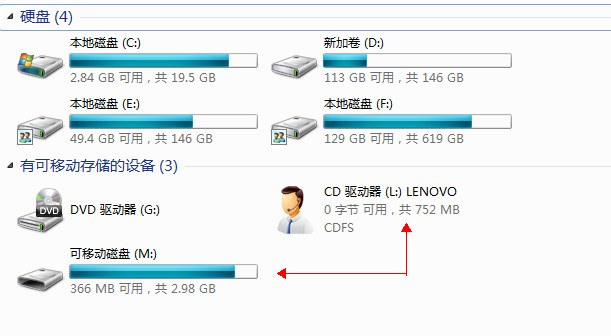 USB接口接U盤無法識別,鼠標可正常識別