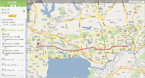 如何使用SOSO地圖公交搜索
