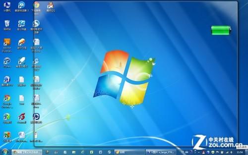 筆記本還有多少電?在Win7桌面監控電量