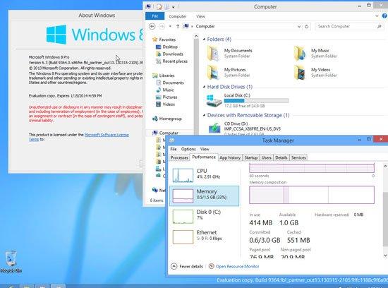 Windows Blue新界面Metro風格做調整