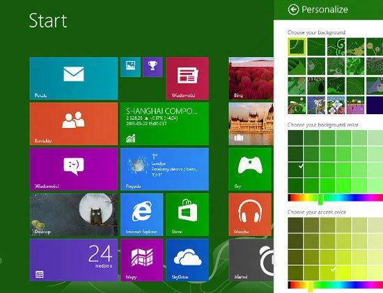 Windows Blue開發版洩露 動態磁貼面積變小