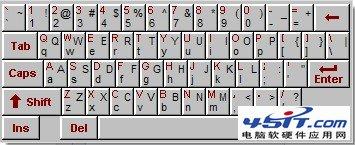 軟鍵盤輸入是什麼意思