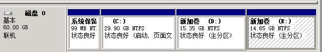 在Windows Server 2008下創建第4個主分區