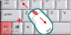 調整Ctrl鍵加鼠標滾輪玩尺寸的方法