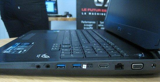17寸最新游戲本華碩G750上手:造型誇張性能強勁