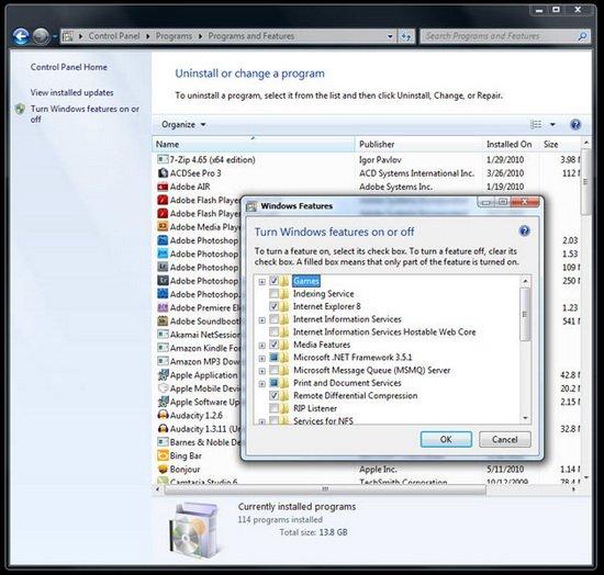加快Windows 7系統運行速度的12個小技巧