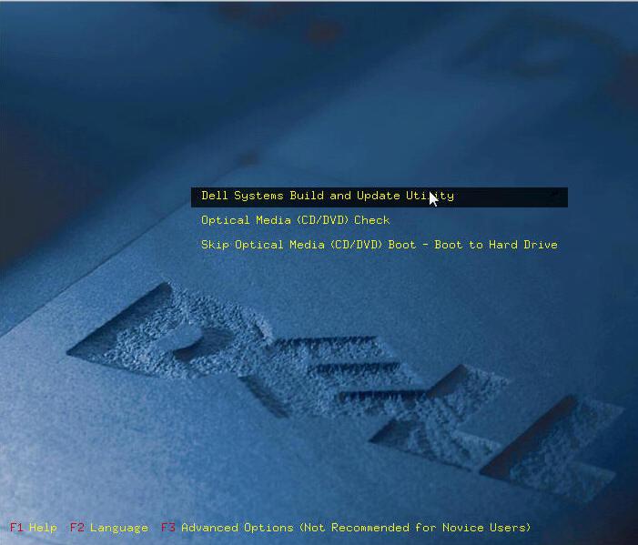 戴爾DELL服務器的win2003操作系統安裝方法