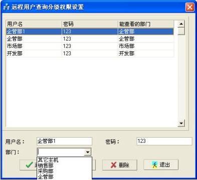 NETKING網絡監控管理系統遠程用戶的查詢分級權限設置 教程