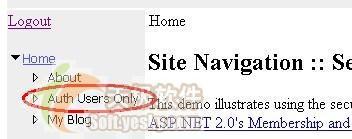 ASP.NET2.0導航功能之配置會員和角色(2)